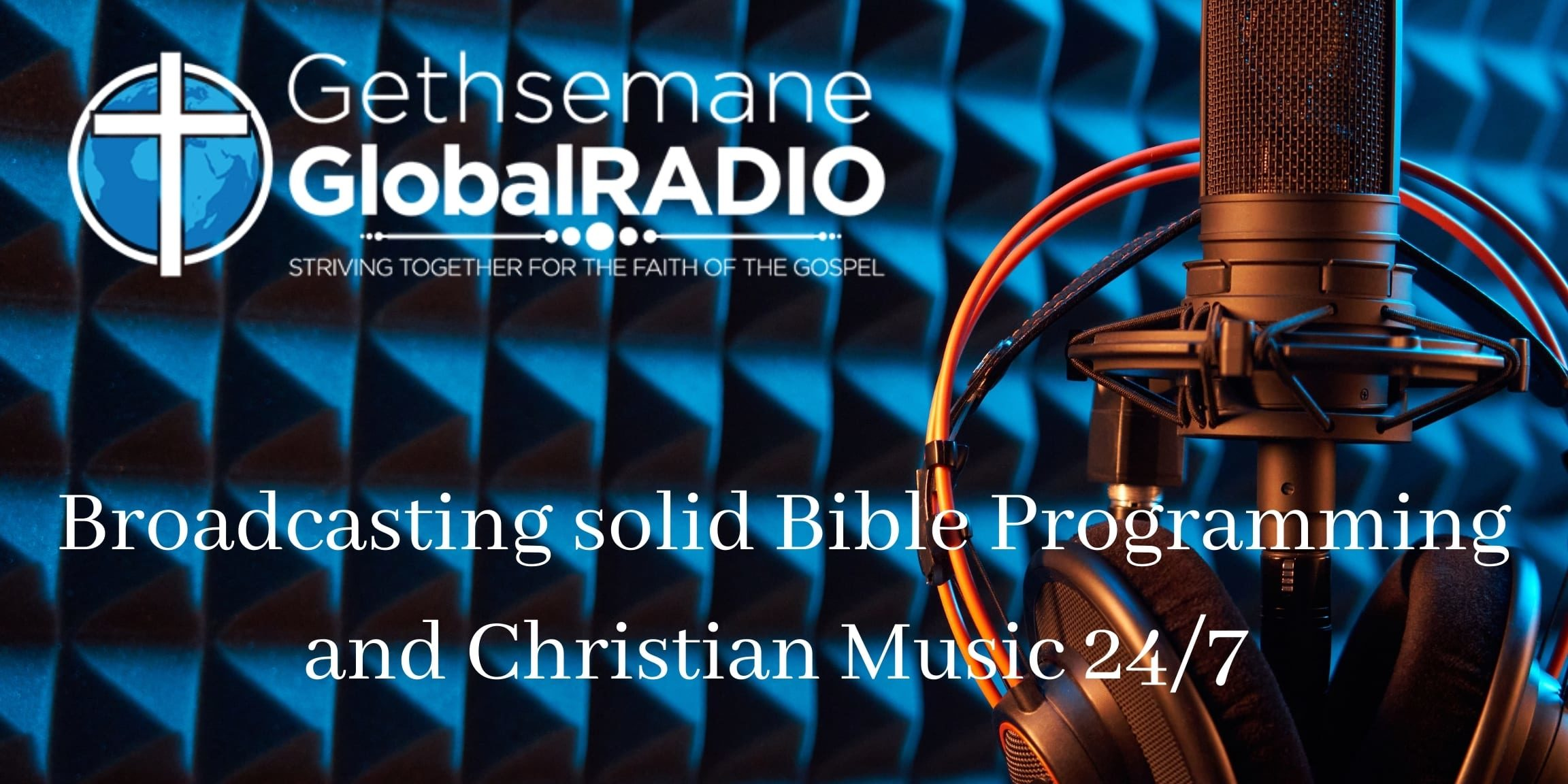 Broadcasting solid Bible Programming and Christian Music 247